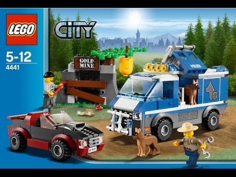 Lego 4441 Police Dog Van City Police Instruction Booklet Youtube