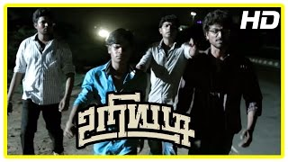 Uriyadi Tamil Movie Scenes | Vijaya Kumar fights with party members | Henna | Suruli