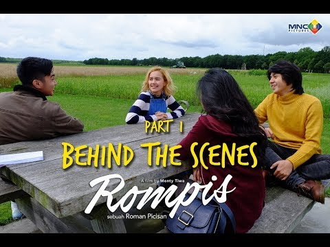 CURHAT ARBANI, UMAY, DINDA & BEBY  - Behind The Scene Film Rompis Part 1
