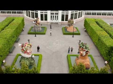 "Phil Haas's ""Four Seasons"" at the New York Botanical Garden"