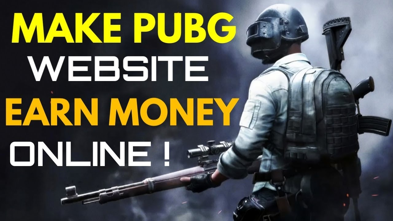 Make PUBG Website Free & Earn Money Online (Proof) | (100% Working Method) | (Hindi)