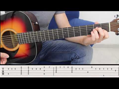 Concierto de Aranjuez - Adagio - Fingerstyle Acoustic Guitar Lesson Beginner