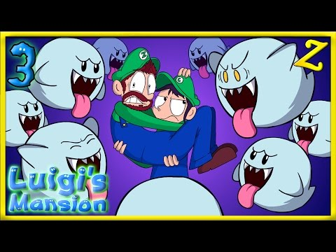 SO MANY BOOS!! | Luigi's Mansion - AREA 3
