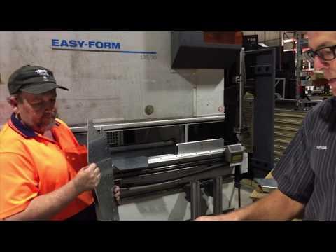 Sheet Metal CNC Press Brake in Brisbane, QLD