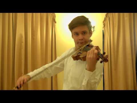 7. Christopher Tun Andersen (Norway) 5th International Jascha Heifetz competition, Vilnius