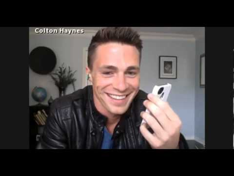 Holton moment during Colton Haynes' spreecast