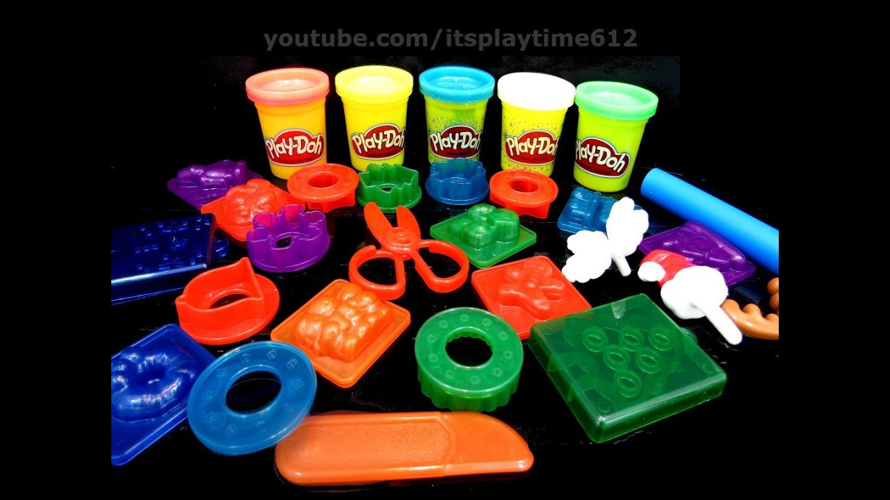 play doh advent calendar holiday toys surprise for kids creativity itsplaytime612 youtube. Black Bedroom Furniture Sets. Home Design Ideas