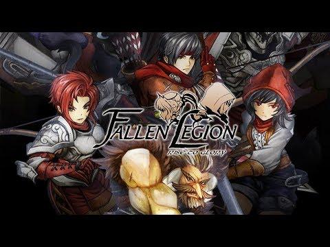 Fallen Legion Rise to Glory on Nintendo Switch | PE Plays!