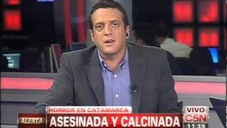 C5N - POLICIALES: HALLARON A UNA MUJER CALCINADA EN CATAMARCA