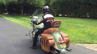 2016 Indian Chief Vintage with Rinehart Exhaust, Before and After Stage 2 Performance Cams