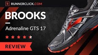 Brooks Adrenaline GTS 17 Review & Comparison | Runnerclick.com