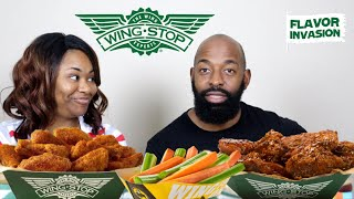 Wing Stop: Lemon Pepper, Korean Spicy, and Fried Corn