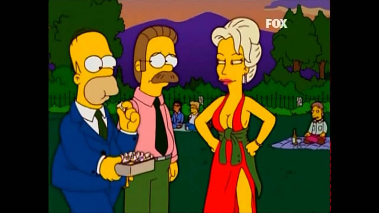 The Simpsons Homer And Sara Sloane Youtube