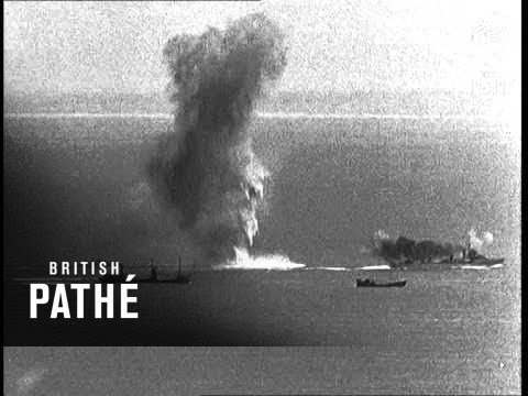 Convoy Attacked In The Channel (1940)