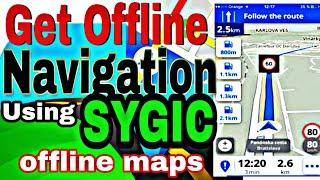 Sygic offline maps screenshot 2