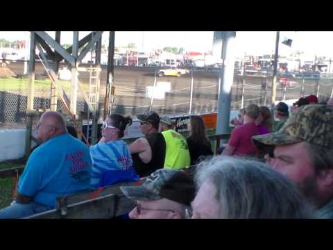 Stock Car Heat 2 @ Benton County Speedway 07/02/17