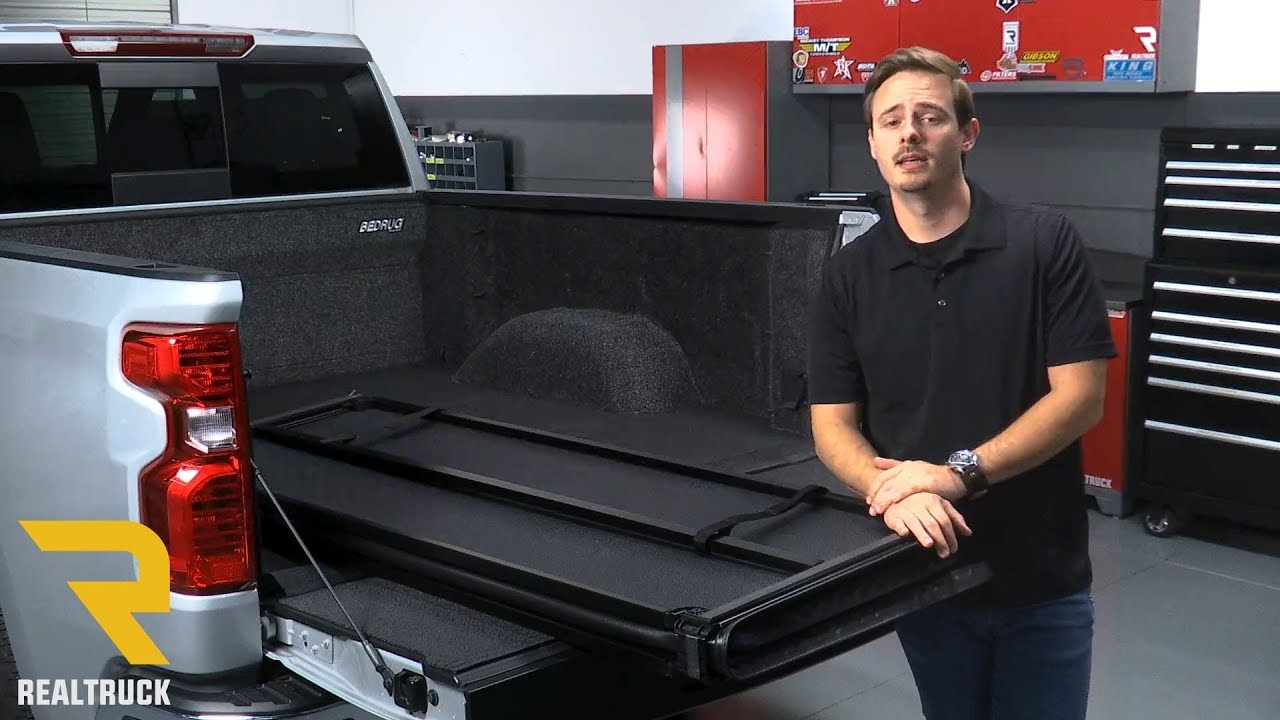 How To Install American Hard Tri Fold Tonneau Cover On A 2019 Chevy Gmc 1500 Crew Cab Youtube