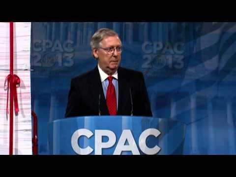 CPAC 2013 - U.S. Senate Majority Leader Mitch McConnell (R-KY)