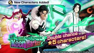 The Lost Agent Summons: KEEN MARKER! BRAND NEW 5* Riruka, Kugo, & Tsukishuma: Bleach Brave Souls