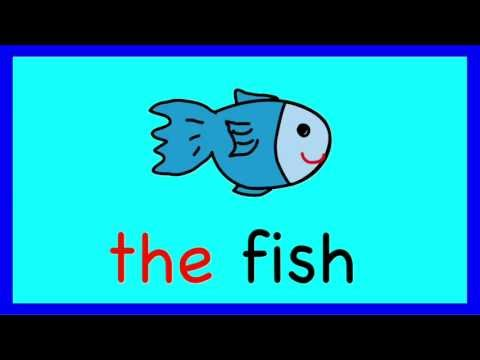 The Song: A Learn to Read Sight Word Song for Children