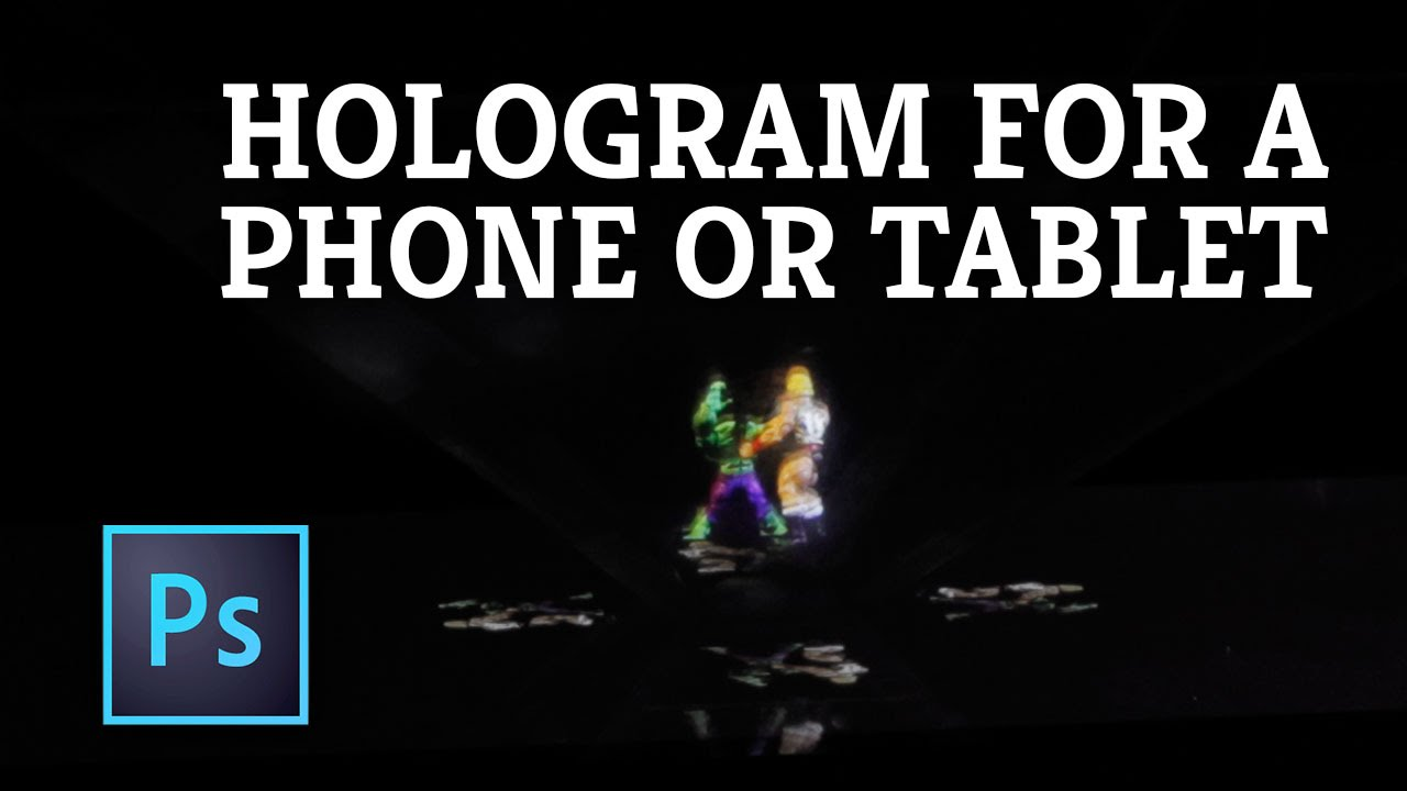 how to make a hologram on your phone