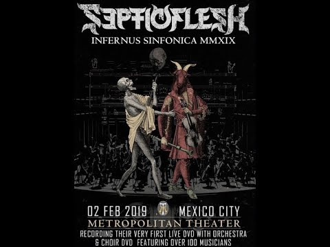 SEPTICFLESH to perform live w/ orchestra and choir for new live DVD in Mexico City!