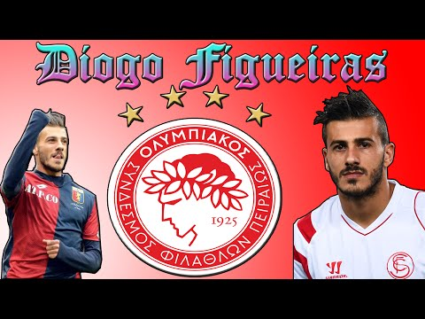 Diogo Figueiras ● The unpredictable ● Welcome to Olympiacos 2016 (HD)