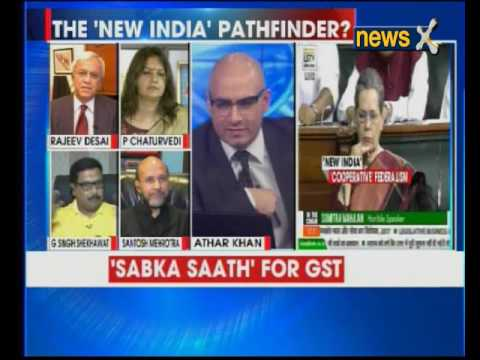Nation at 9: GST passed, Jaitley targets July Rollout