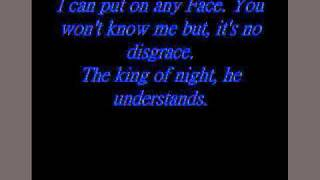 Gene Simmons Man Of 1000 faces lyrics