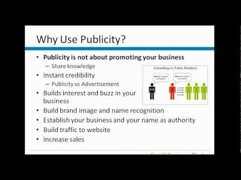 Get Free (or Low Cost) Publicity for Your Small Business