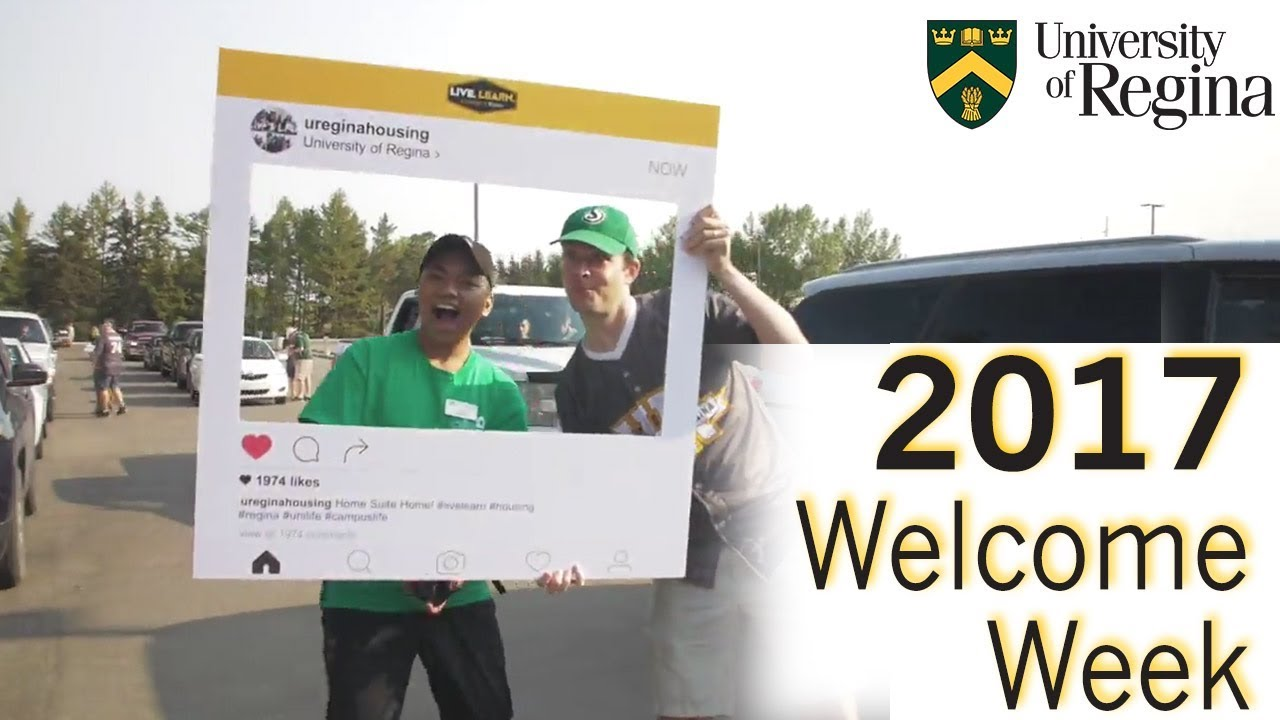 2017 University of Regina Welcome Week