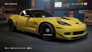 Chevrolet Corvette Z06 Race Spec Customization - NFS Payback