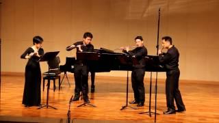JJ Flute Quartet : Trois Pieces