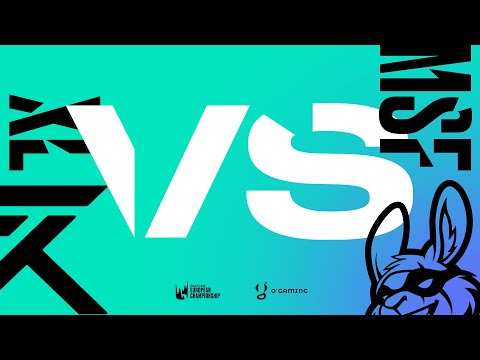 LEC Spring 2020 - XL vs MSF - W7D1