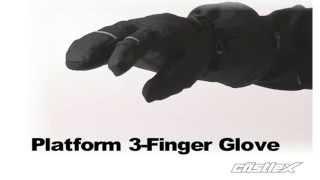 Castle X : Platform 3-Finger Glove : Men's and Women's