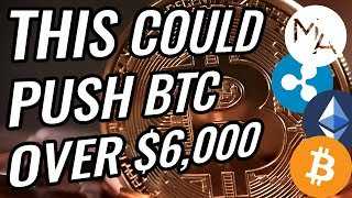 Bullish Crypto News That Could Push Bitcoin OVER $6,000 | Massive Ethereum Rally