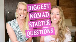 DIGITAL NOMAD STARTER QUESTIONS ♡ Finding clients, choosing countries, loneliness and making money