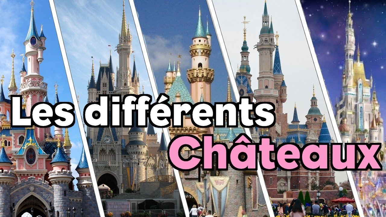 les differents chateaux disney youtube. Black Bedroom Furniture Sets. Home Design Ideas