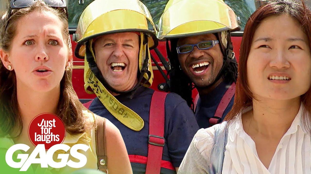 للضحك فقط اجمل مقالب رجال الإطفاء 2020