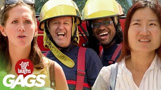 Best of Firefighter Pranks | Just For Laughs Compilation
