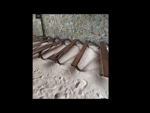 A cute sand chapel in Panglao,Bohol