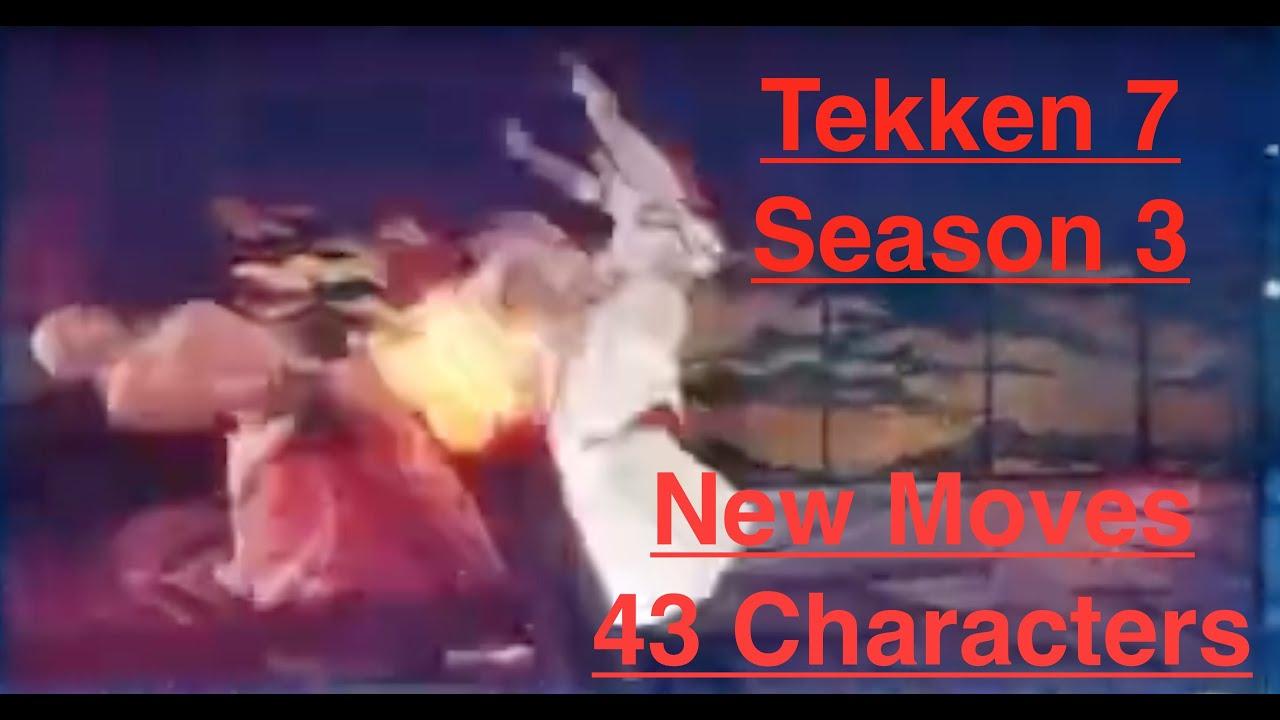 Tekken 7 Season 3 New Moves Analysis (43 Characters) + Zafina / 철권 7 시즌 3 신기술 영상 분석: 43캐릭 + 자피나