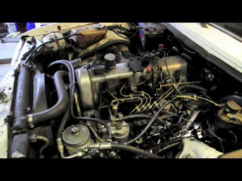 Mercedes benz diesel engine youtube for Mercedes benz om617