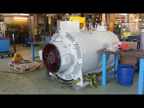 Starting a 6kV 3Ph 50Hz - 500 kW - 1,000 rpm slip-ring motor under 800V
