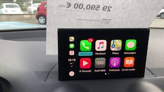 AppleCarPlay sur Audi Q2