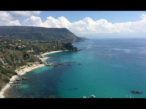 Calabria Best Beaches. Tropea, Capo Vaticano. Amalfi Coast Beaches.