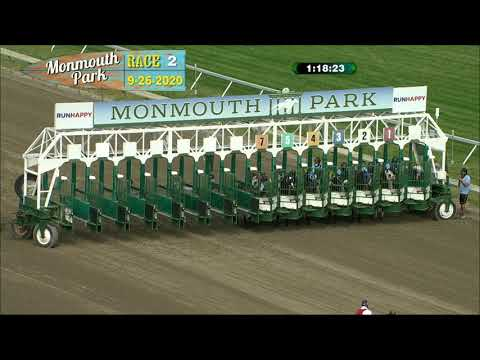 video thumbnail for MONMOUTH PARK 09-26-20 RACE 2