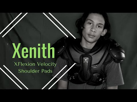 Xenith XFlexion Velocity Shoulder Pads + Back Plate - Unboxing and First Impressions