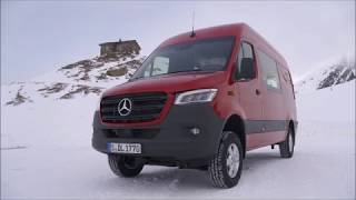 Mercedes-Benz Sprinter 4x4 Review: Off-Road in The Alps