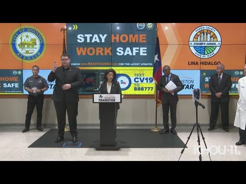 Stay-home-work-safe order issued for Harris County, Houston